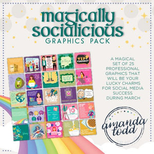 MAGICALLY SOCIALICIOUS - Set of 25 Images