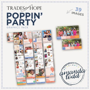 Trades of Hope- POPPIN' PARTY GRAPHICS PACK