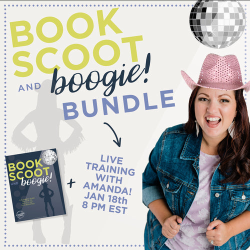 BOOK SCOOT AND BOOGIE- LIVE