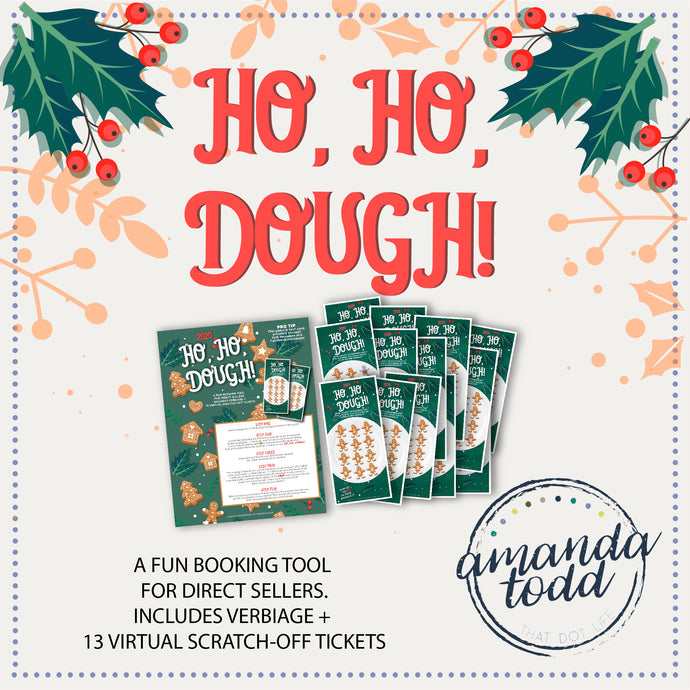 HO HO DOUGH- Scratch-off Ticket Game for Bookings
