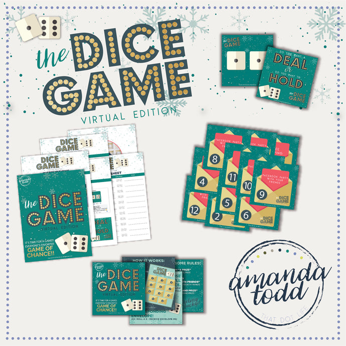VIRTUAL DICE GAME- CHRISTMAS EDITION