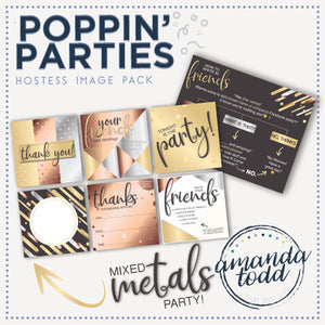 MIXED METALS POPPIN' PARTY HOSTESS IMAGE PACK