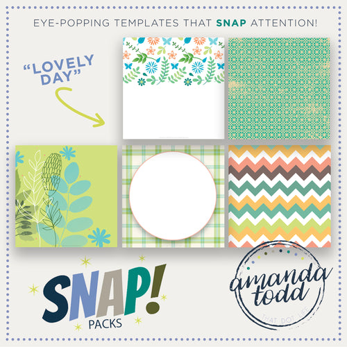 SNAP PACK - Lovely Day