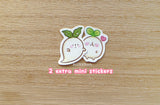 Radish Spirit Sticker Set