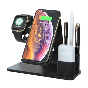 Apple Charging Station MAX | Watch + Airpods + iPhone Dock & Charger