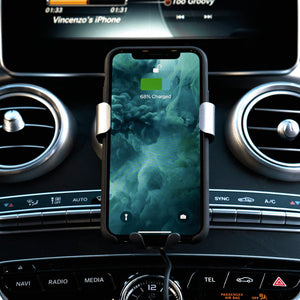 - Gravity iPhone Car Charger - Wireless Charging Mount - - Aftermarket Apple (aftermarketapple)