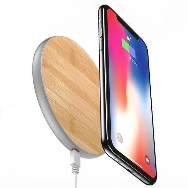 - Woodgrain iPhone Charging Pad | iPhone X XS XR Max 8 - - Aftermarket Apple (aftermarketapple)