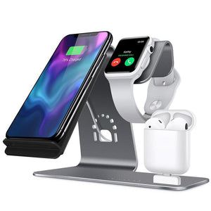- Apple Charging Station | iPhone + iWatch + Airpods | ALL IN ONE - - Aftermarket Apple (aftermarketapple)