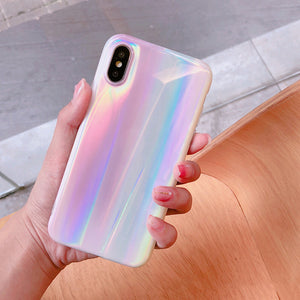- Pearl Aurora Silicone iPhone Case - - Aftermarket Apple (aftermarketapple)