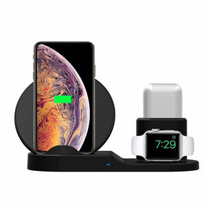 Dock - Ultimate Wireless Apple Docking Station | Built-in Wireless 3-in-1 Dock - - Aftermarket Apple (aftermarketapple)