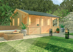 Adlington log cabin