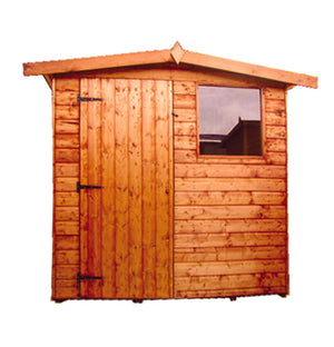 Dart apex roof shed