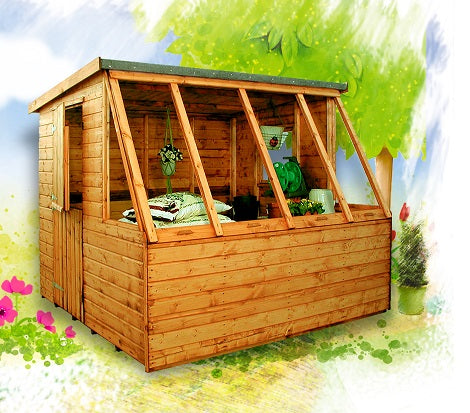Dual Potting Shed