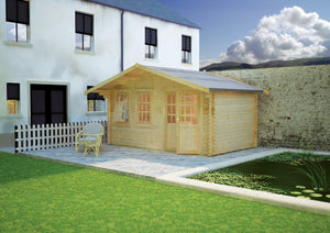 Forde Log Cabin 44mm Logs