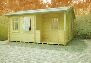 Gyles Log Cabin 44mm Logs