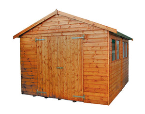 Major apex roof shed