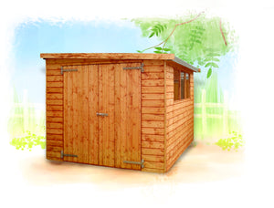 Major pent roof shed