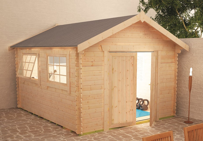 Malborough Log Cabin  28mm or 44mm log