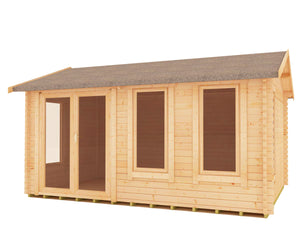 Sherbourne Log Cabin 44mm logs