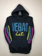 Load image into Gallery viewer, Las Vegas Lights (Vegas Lit Hoodie) - KleverShirtz