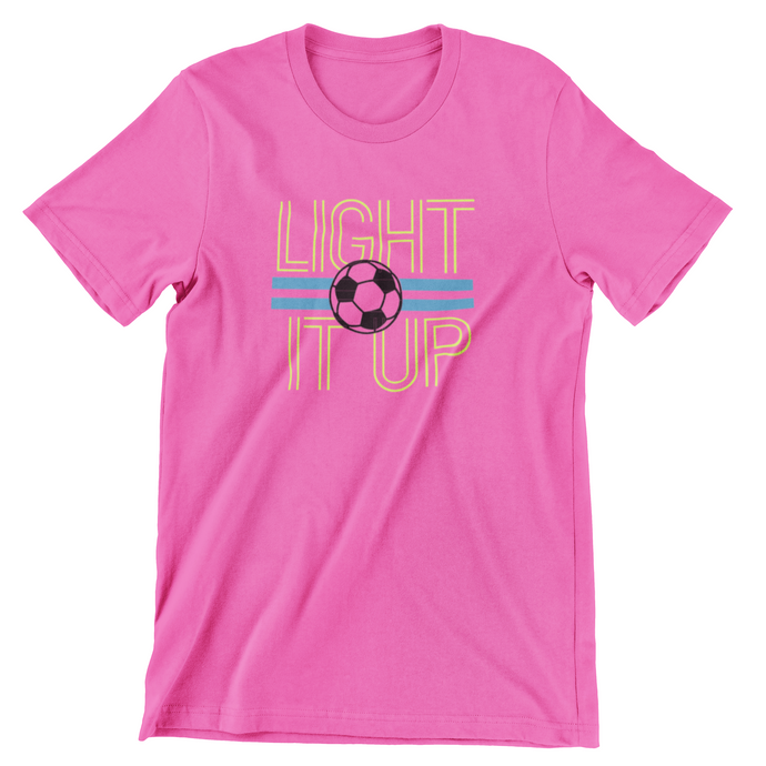 Light It Up - Pink - KleverShirtz