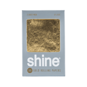 Shine 24K Papers - Contains 2 sheets 1.25""