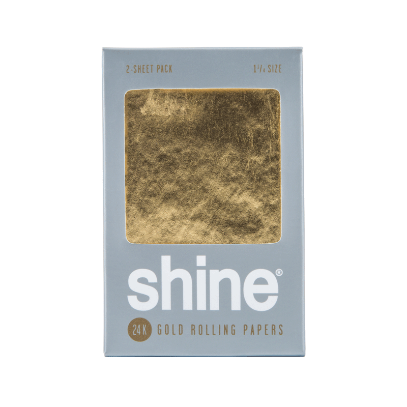 Shine 24K Papers - Contains 2 sheets 1.25