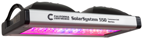 SOLARSYSTEM 550 - Commercial LED Grow Light by California Lightworks
