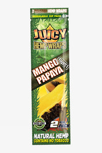 Juicy Jay's Hemp Wraps - Mango Papaya (2 Hemp Wraps)