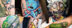 50 mind-blowing 'Rick and Morty' tatueringar