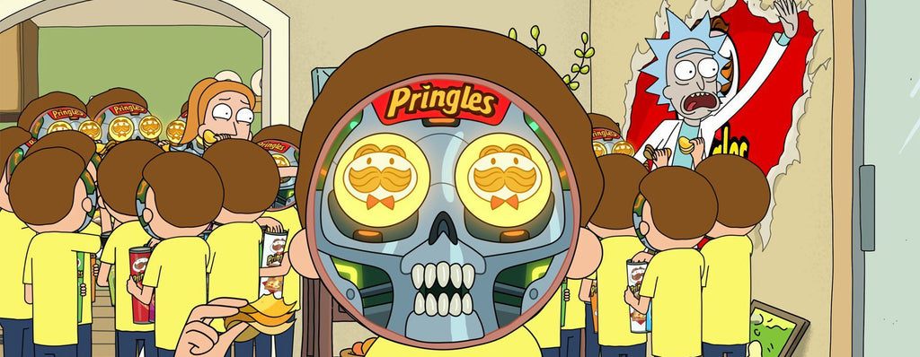 Pringles reklamfilm med 'Rick and Morty'