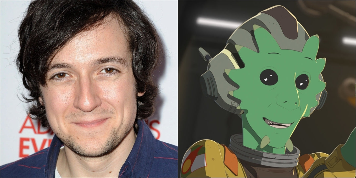 Josh Brener Röst i Rick and Morty?