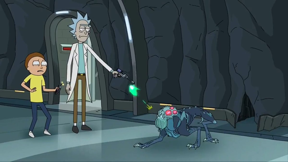 "Rick And Morty Agerar Ghostbusters I ""Kennedys Sex-Tunnlar"""