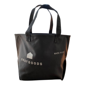 Dark Gray Hunter Canvas Tote