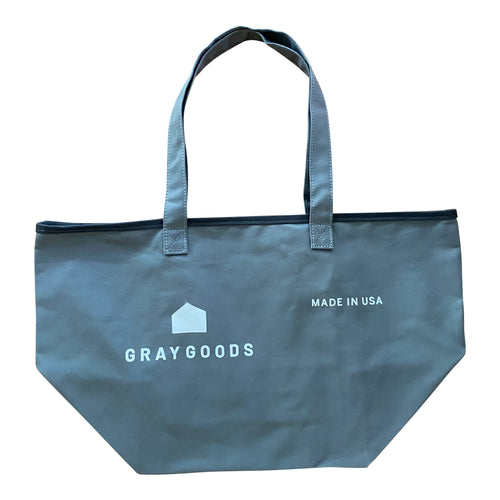 Light Gray Hunter Canvas Tote