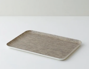 Linen Coating Tray Medium Natural
