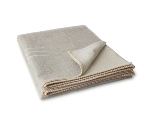 Blacksaw Harvest Moon Reversible Throw Light Heather/ Ivory