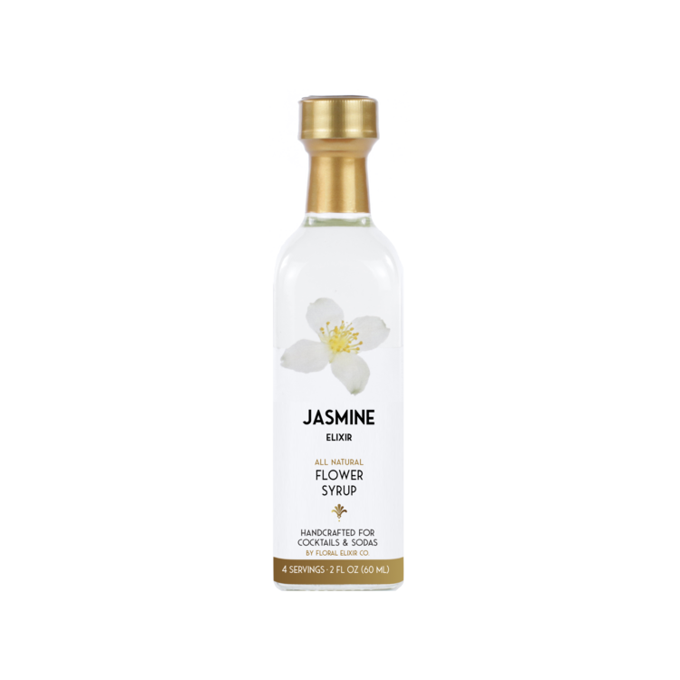 Jasmine Flower Syrup - All Natural
