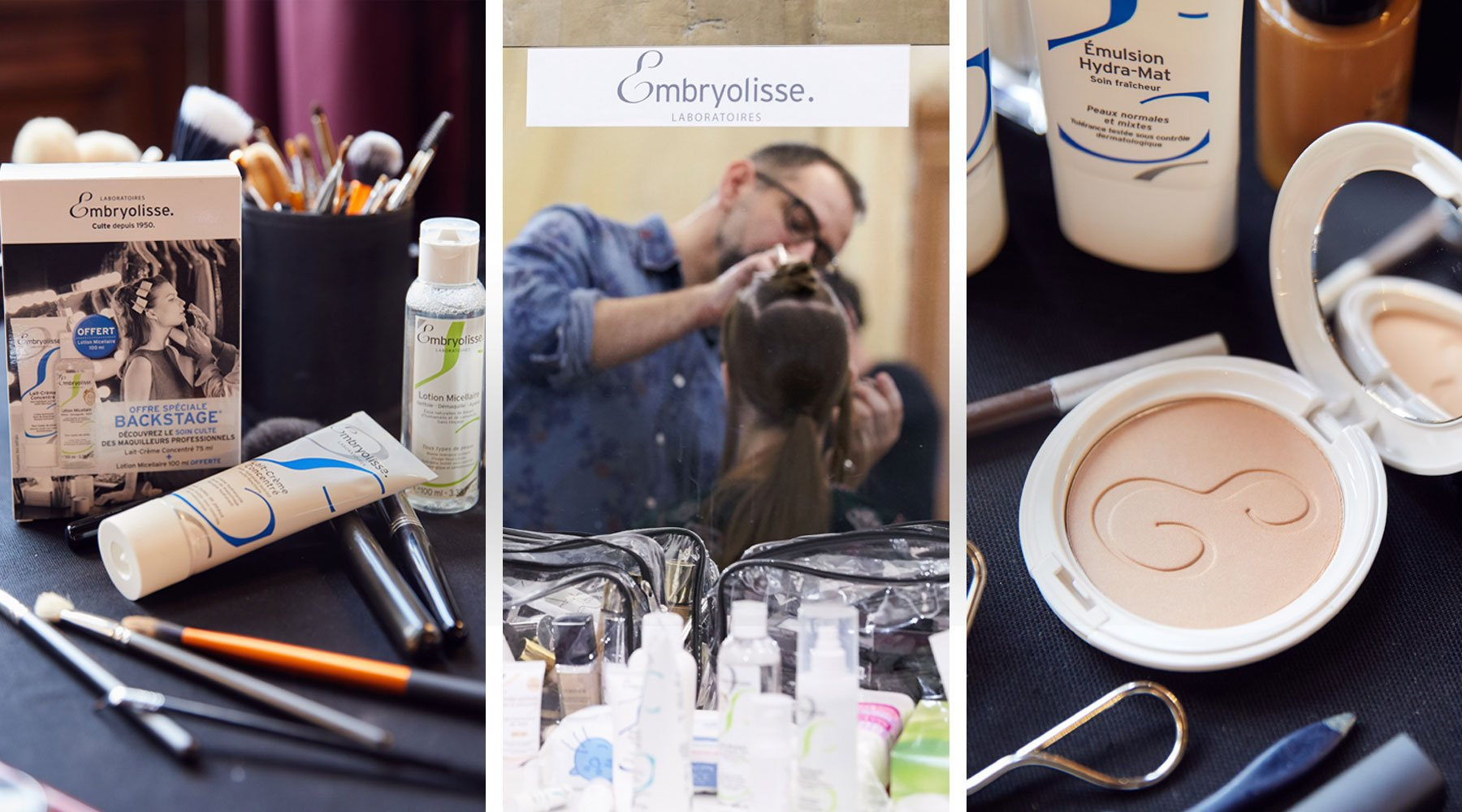 Rendez-vous en backstages de la Paris Fashion Week - Magazine - embryolisse