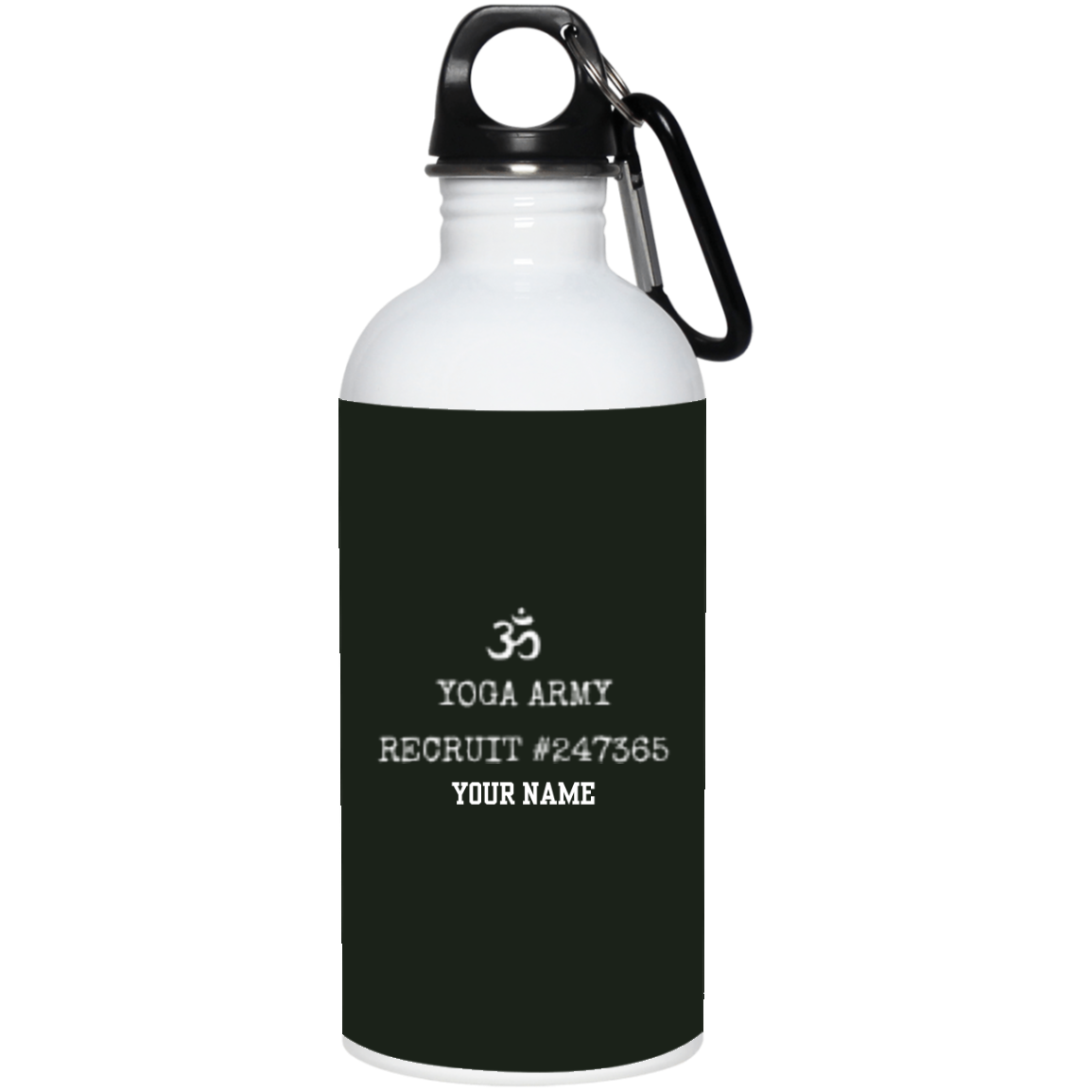 YOGA ARMY 20 oz. Stainless Steel Water Bottle