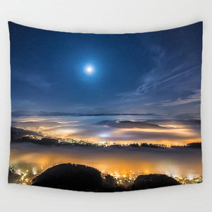 Colorful Goddess Sky Tapestry - Goddess Zen