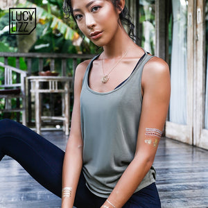 GAIA Sexy Backless Yoga Top - Goddess Zen