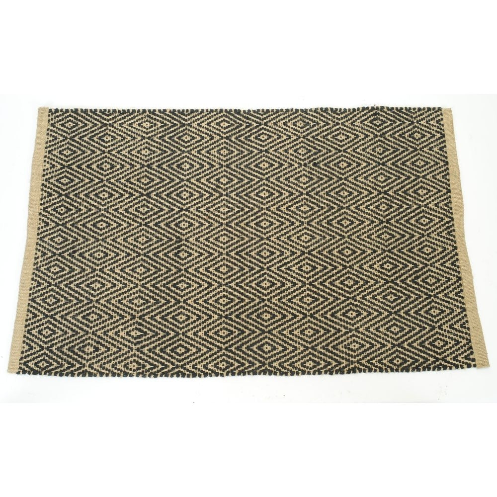 Tapis en jute et cotton