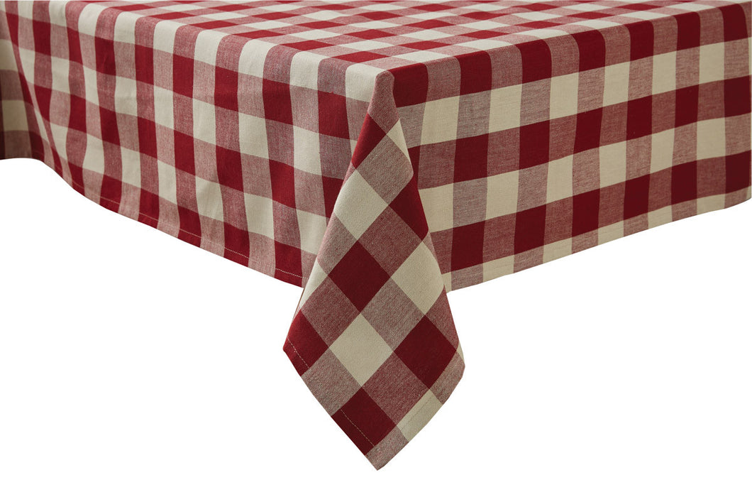 Nappe carreauté Wicklow Garnet
