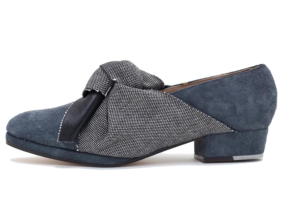 Ossun Low Heel Grey