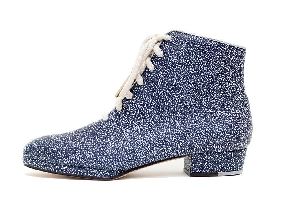 Zachary Blue Lace Up Boot