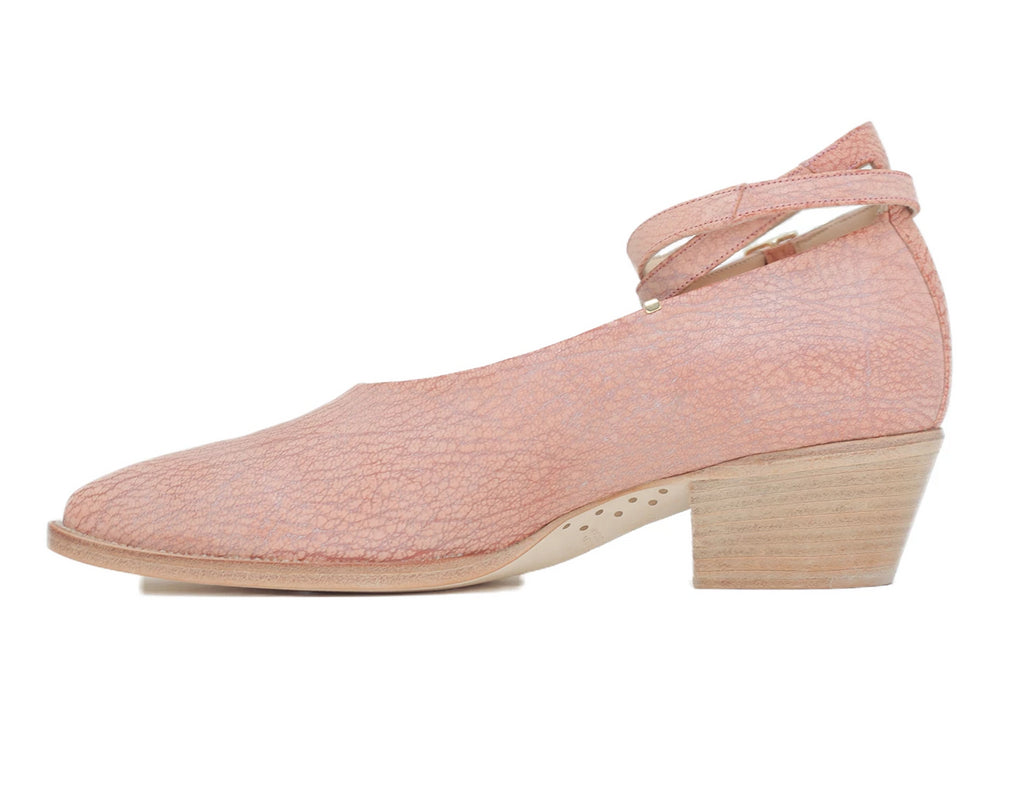 Carroll Low Heel Pink