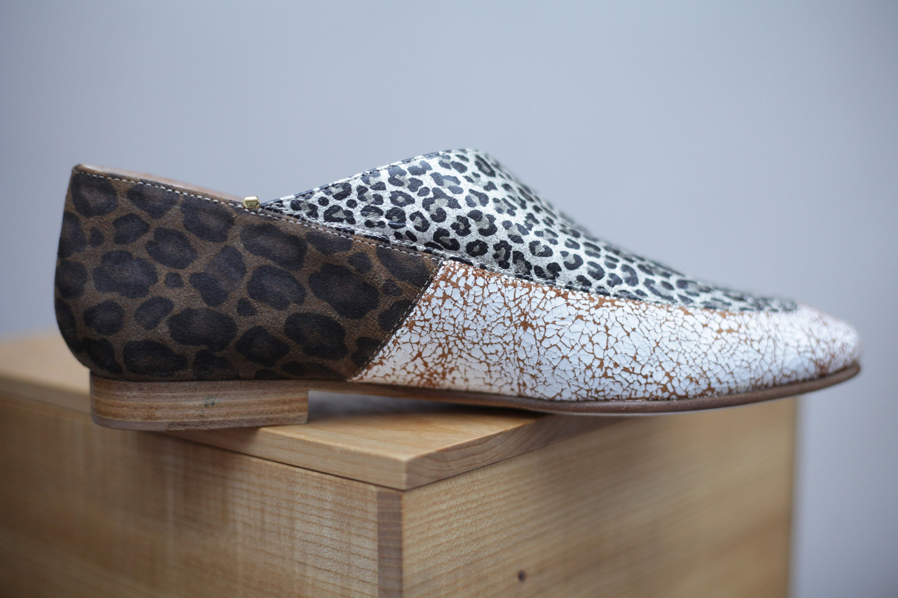 The Clarence in leopard
