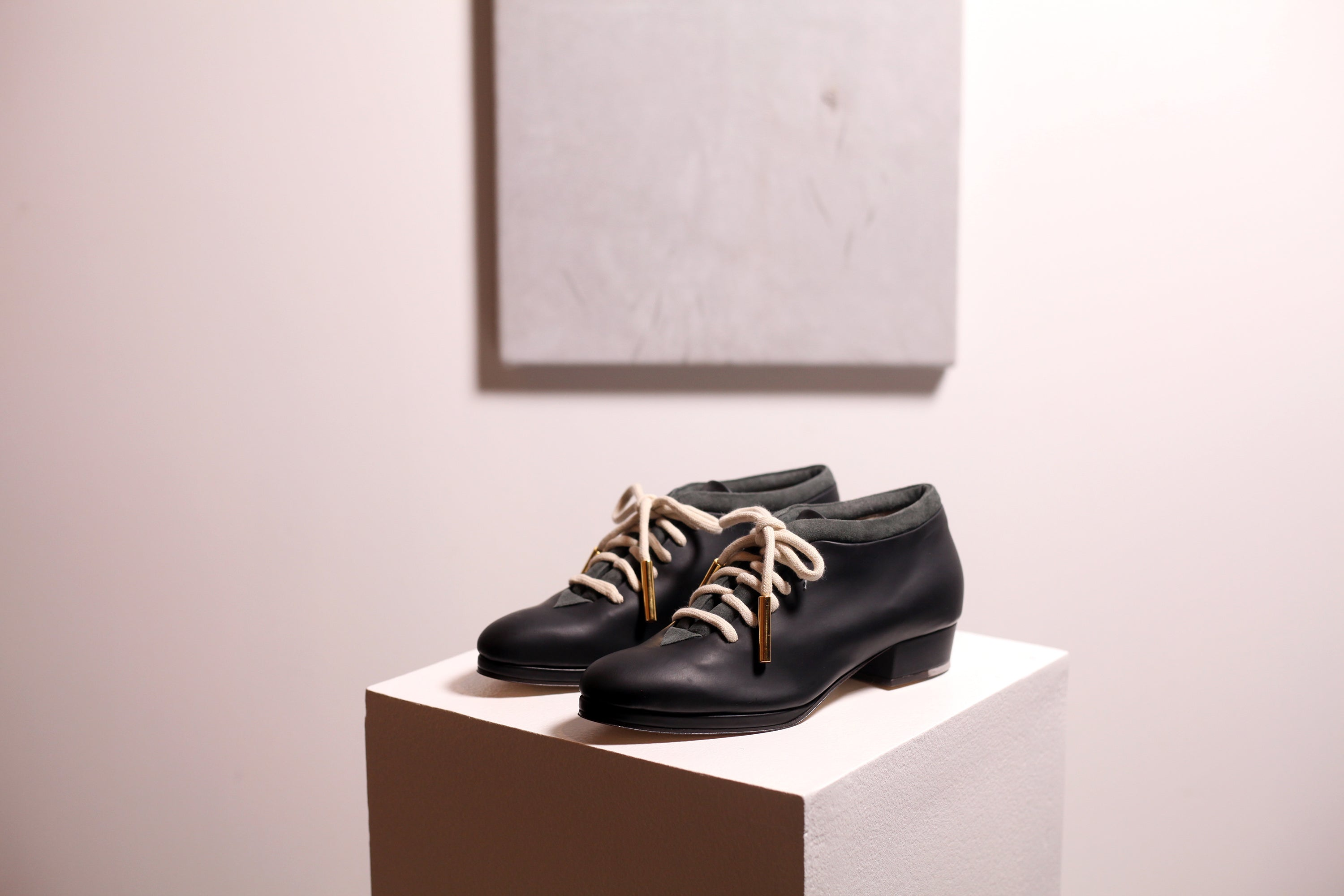 New Eros Lace Up Black