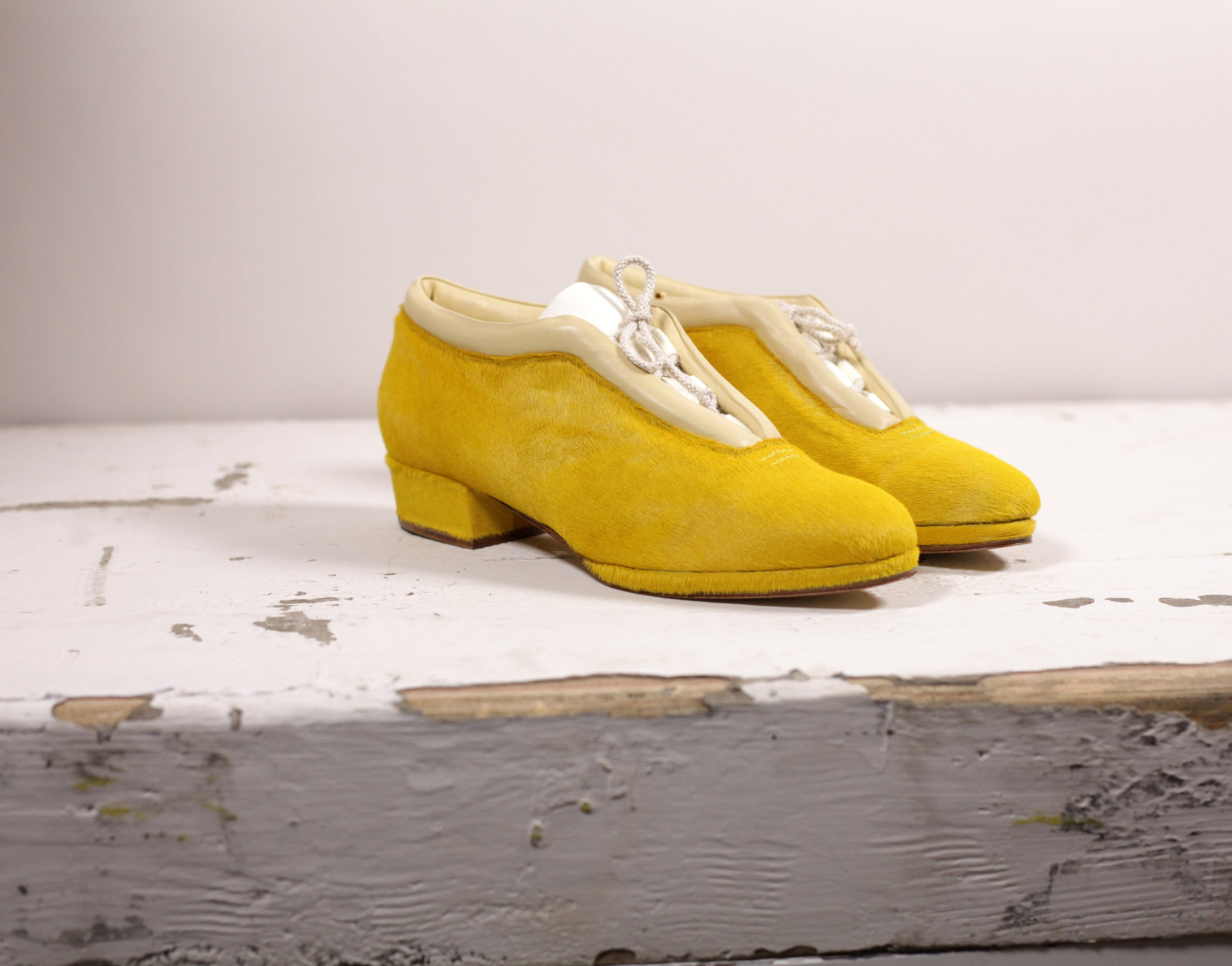 The Evangeline in yellow pony
